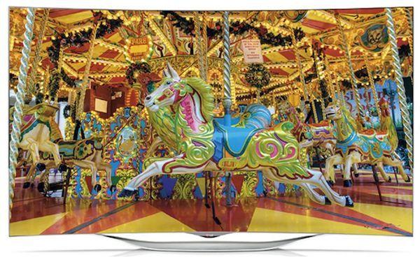 """lg 05 08 2014 - LG 55EC930V: OLED 55"""" Full HD curvo"""