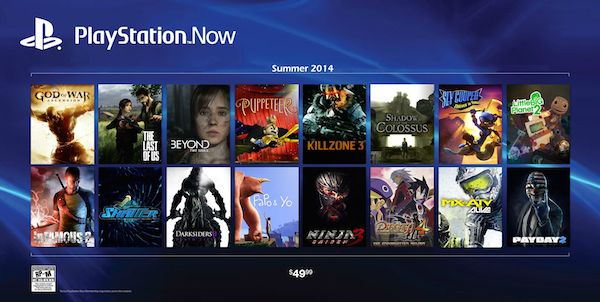 playstation now 21 08 2014 - Playstation Now sbarcherà in Europa nel 2015