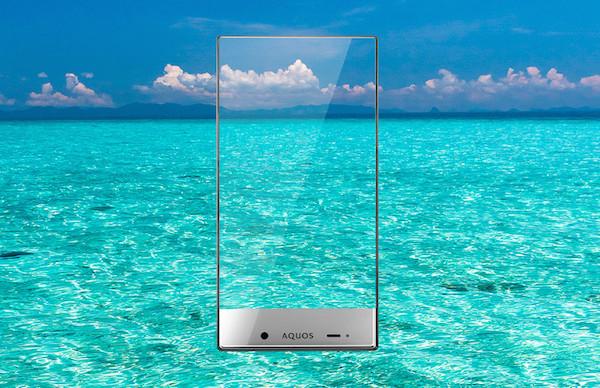 "sharp 20 08 2014 - Sharp Crystal: smartphone ""senza cornice"""