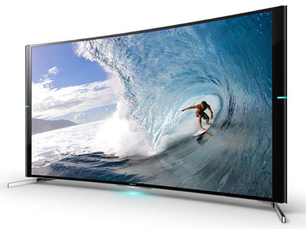 sonycurvo4k 07 08 14 - Sony Bravia S90: TV LCD Curvi Ultra HD