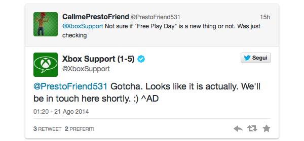 xboxone 21 08 2014 - Microsoft: prove gratuite di 24 ore su Xbox Live