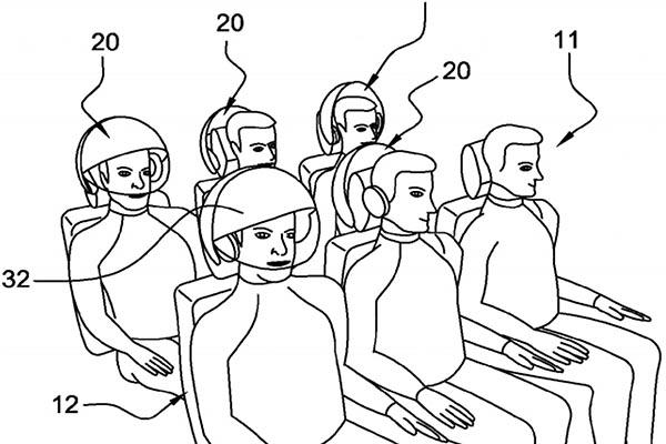 airbus2 18 09 14 - Airbus: concept di casco VR per passeggeri