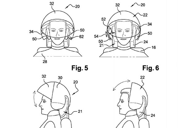 airbus3 18 09 14 - Airbus: concept di casco VR per passeggeri
