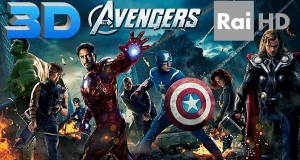 "avengers1 09 09 14 300x160 - Rai HD: ""The Avengers"" in HD e 3D"