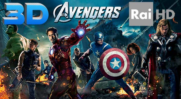 "avengers1 09 09 14 - Rai HD: ""The Avengers"" in HD e 3D"