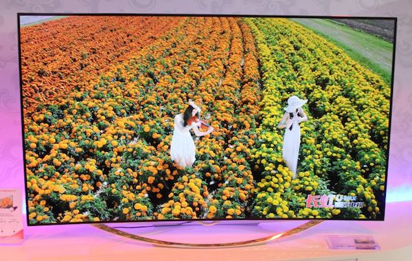 """changhong 2 11 09 2014 - Changhong: TV 105"""" 5K e OLED Ultra HD curvo"""