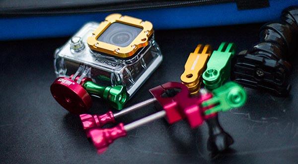 """go4fun1 24 09 14 - Go4Fun: accessori """"Made in Italy"""" per GoPro"""