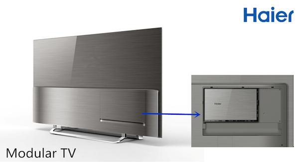 haier 5 04 09 2014 - Haier: TV UHD, OLED, modulari e proiettore LED