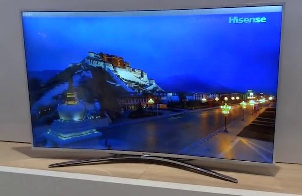hisense 2 15 09 2014 - Hisense: TV ULED con curvatura regolabile