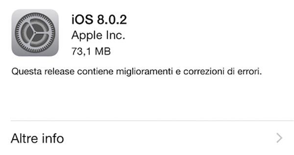 ios2 26 09 14 - iOS 8.0.2: risolti i bug di iPhone 6 e 6 Plus