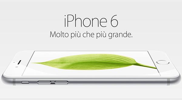 iphone6 10 09 14 - iPhone 6 e 6 Plus in Italia il 26 settembre da 729€
