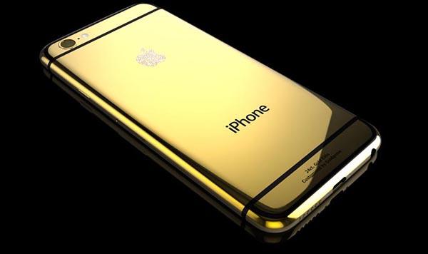 iphone6gold1 19 09 14 - iPhone 6 e 6 Plus in oro 24 kt e Swarovski