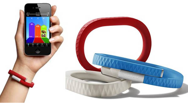 jawbone1 10 09 14 - Jawbone Up su Android Wear e Apple Watch