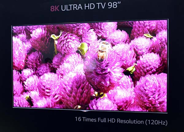 lg8k 2 04 09 2014 - LG: TV 8K sul mercato tra due anni