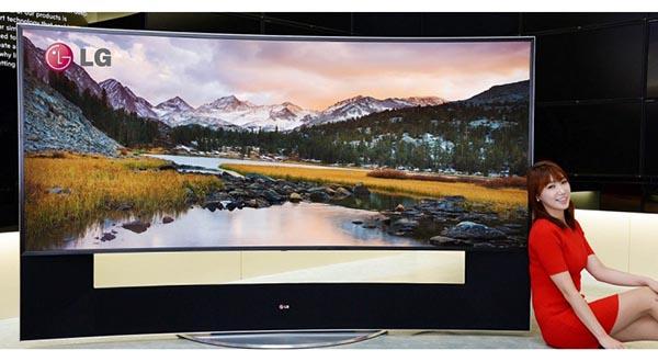 "lg 11 09 2014 - TV 105"" LG 105UB9 in uscita a novembre"