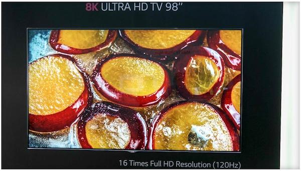 """lg 2 04 09 2014 - LG: TV 55"""" con risoluzione 8K al CES 2015?"""