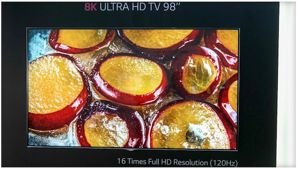 lg 2 04 09 2014 - LG: prototipo TV LCD 98 pollici 8K