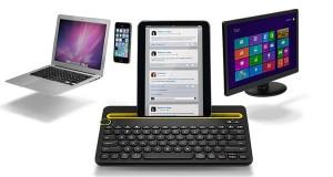 logitech1 08 09 14 300x160 - Logitech K480: tastiera con dock smartphone e tablet