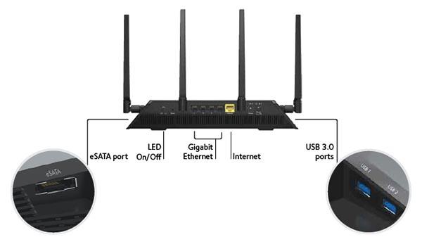 "netgear2 10 09 14 - Netgear Nighthawk X4: router Wi-Fi ""al top"""