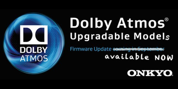 onkyo 2 30 09 2014 - Onkyo: aggiornamento firmware per Dolby Atmos