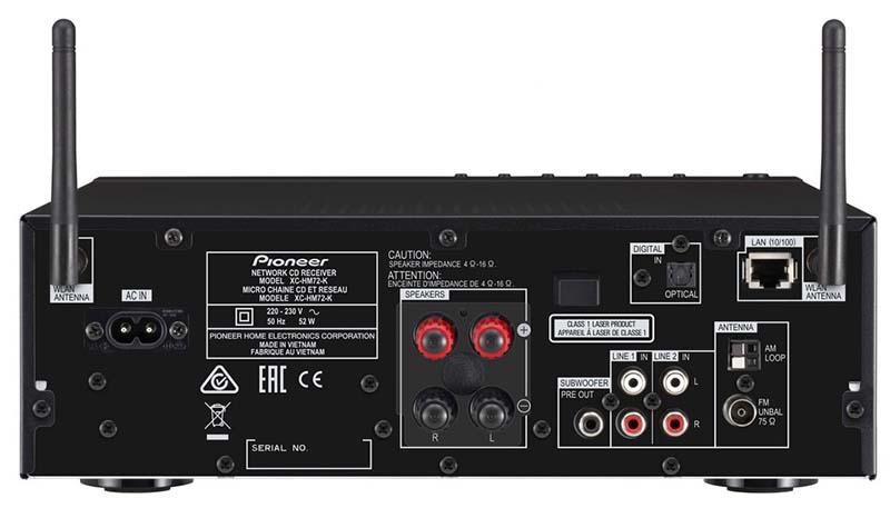 pioneer3 08 09 14 - Pioneer X-HM72 / X-HM82: sistemi Hi-Fi con streaming