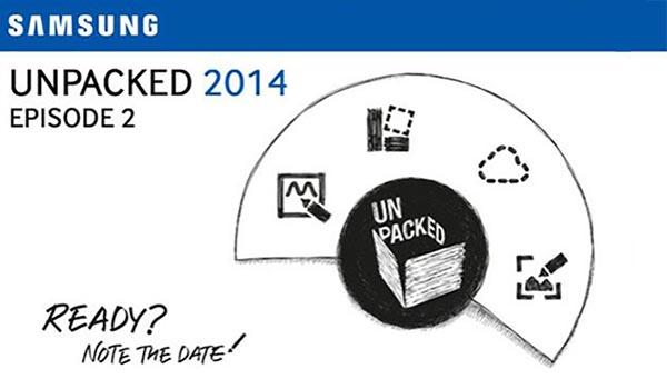 samsung unpacked - Samsung IFA 2014: diretta streaming alle 15