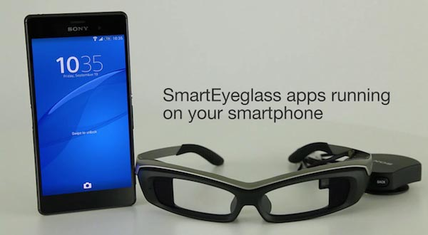 sony 23 09 2014 - Sony SmartEyeGlass Developer Edition
