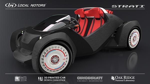 strati3 22 09 14 - Strati: la prima automobile stampata in 3D
