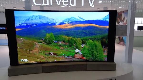 """tcl 3 09 09 2014 - TCL: TV LCD Ultra HD da 110"""" curvo"""