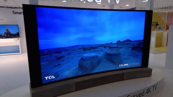 """tcl 4 09 09 2014 - TCL: TV LCD Ultra HD da 110"""" curvo"""