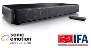 teufel 02 09 2014 300x160 - Teufel CineBase: base TV Bluetooth con HDMI