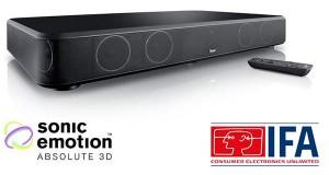 teufel 02 09 2014 300x160 - Teufel CineBase: base TV Bluetooth con HDMI