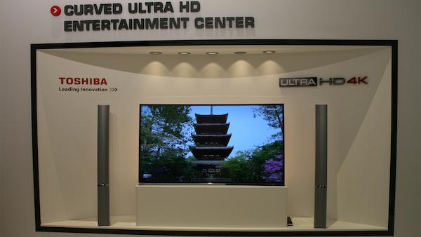 toshiba 2 08 09 2014 - Toshiba: TV Ultra HD a specchio e 21:9