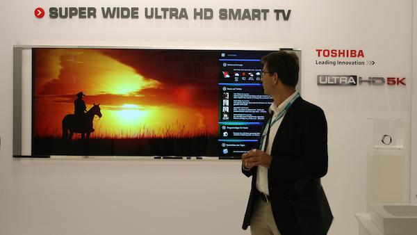 toshiba 3 08 09 2014 - Toshiba: TV Ultra HD a specchio e 21:9