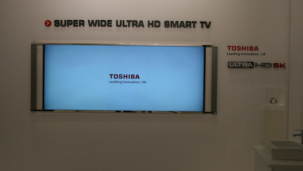 toshiba 5 08 09 2014 - Toshiba: TV Ultra HD a specchio e 21:9