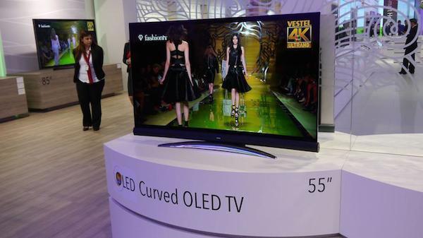 """vestel 2 17 09 2014 - Vestel: LCD 105"""" UHD 21:9 e OLED curvo"""