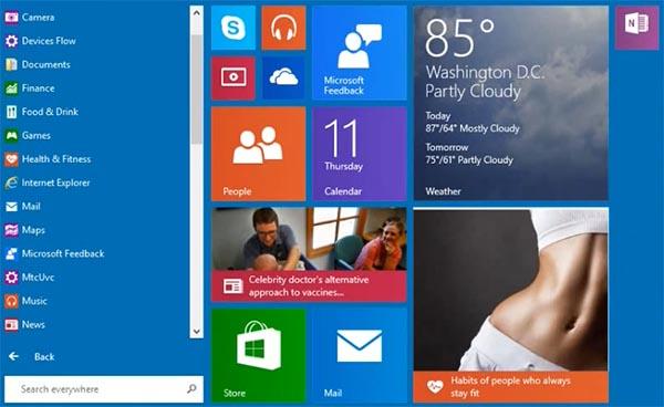windowsstart 12 09 14 - Windows 9: nuovo tasto Start in video