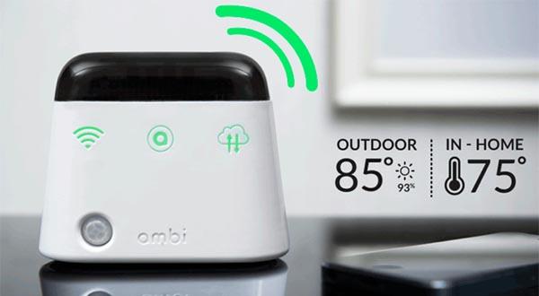 """ambi 08 10 2014 - Ambi Climate rende il climatizzatore """"smart"""""""