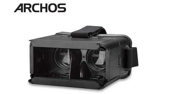 "archisvr evi 17 10 14 - Archos VR Glasses: visore VR ""universale"" a 30 €"