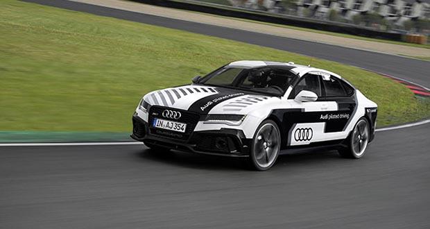 audi1 21 10 14 - Audi RS7 in pista...senza pilota!