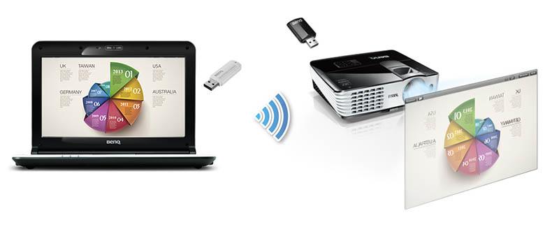 benq2 10 10 14 - BenQ: novità Wireless per la videoproiezione