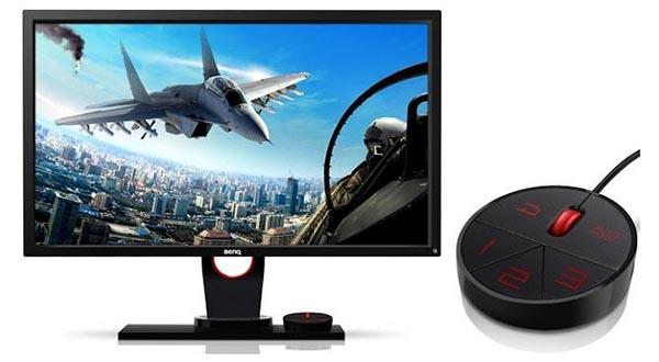 """benqxl evi 10 10 14 - BenQ XL2430T: monitor LCD 24"""" per il gaming"""