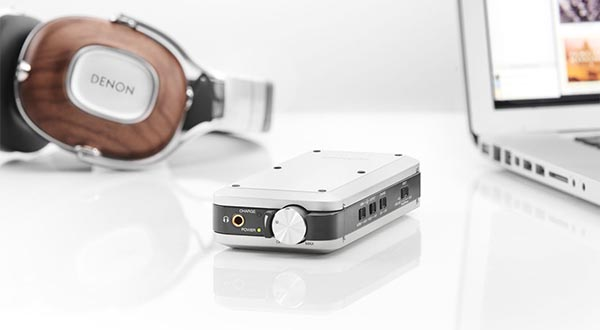denon 21 10 2014 - Denon DA-10: ampli cuffie e DAC USB portatile