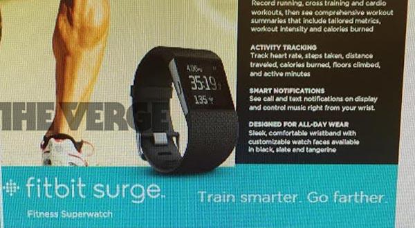 fitbit 20 10 2014 - Fitbit Surge: smartwatch per atleti