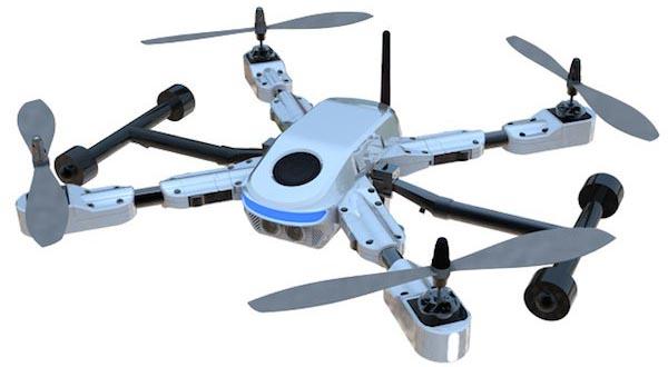 plexidrone 10 10 2014 - PlexiDrone: drone compatto per la fotografia