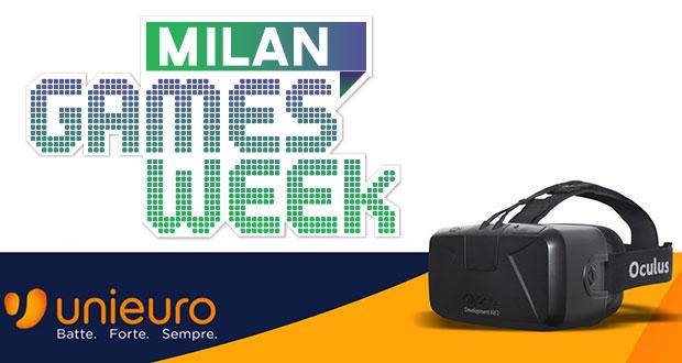 unieuro 23 10 14 - Oculus Rift DK2 al Milan Games Week