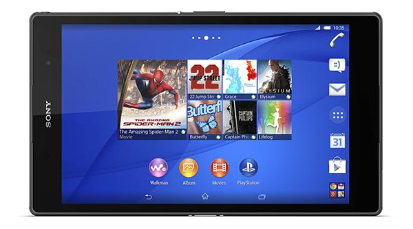 "z3compact2 10 10 14 - Sony Xperia Z3 Tablet Compact: 8"" con X-Reality"