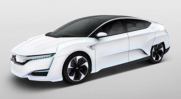 fcv evi 17 11 2014 - Honda FCV: auto a idrogeno con ricarica in 3 minuti