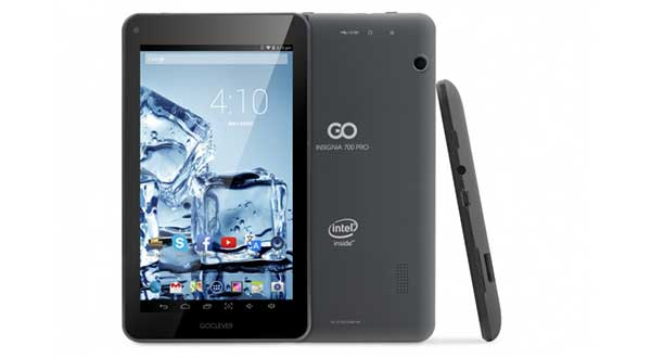 "goclever1 04 11 14 - GOCLEVER Insignia 700 Pro: tablet 7"" sotto i 100€"