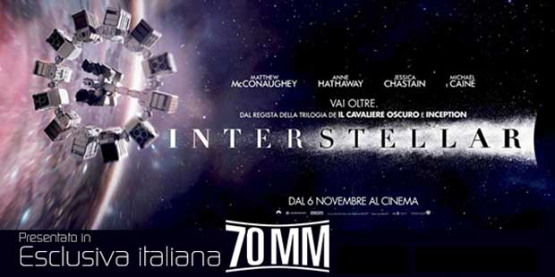 interstellar2 05 11 14 - Interstellar in formato 70mm all'Arcadia di Melzo